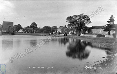 Grewelthorpe village pond